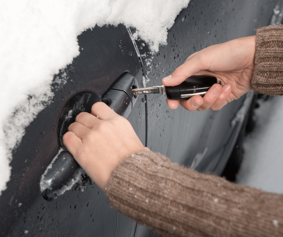 How to Fix a Frozen Car Lock