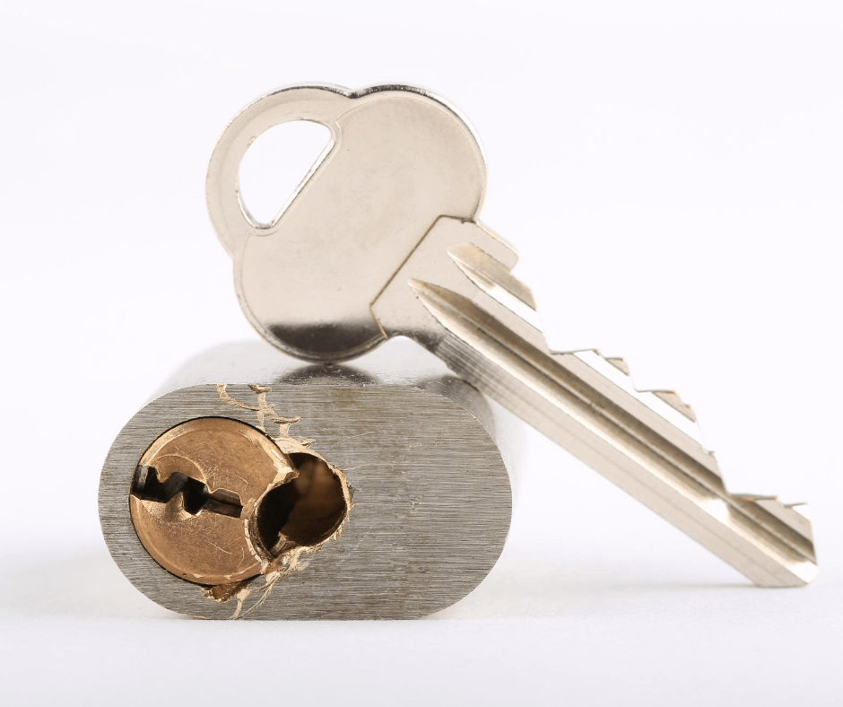 How do you know when drilling a lock is necessary?
